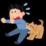犬が吠える